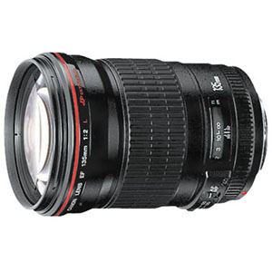 Canon EF 135mm f/2L USM Telephoto Lens Instructions Manual